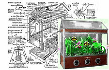 Build your own Indoor Miniature Greenhouse for Growing Orchid
