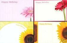 FLORIST CARDS   BIRTHDAY  MODERN SELECTION OF 25 CARDS