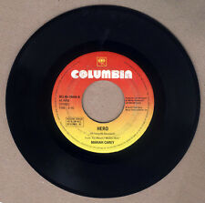 "PHILIPPINES:MARIAH CAREY - Hero 7"" 45 RPM,DOUBLE A SIDE, rare,SCARCE"