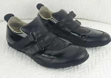 Men's Kenneth Cole New York Black Leather  Double Buckle Cap Toe Shoes 9.5
