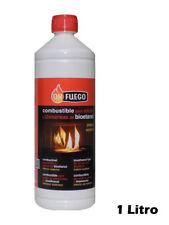Bioethanol 1l. Kraftstoff für Öfen und Kamine innen und außen OK FUEGO