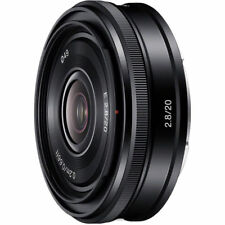 Sony E 20mm f/2.8 Lens SEL20F28