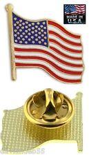 USA Made LAPEL SHIRT HAT DRESS CAP COAT PIN AMERICAN US FLAG Patriotic America s
