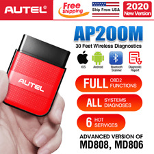 Autel AP200M Pro Automotive OBDII Scanner Bluetooth Adapter Read & Clear Codes
