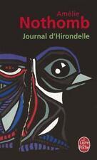 Journal D Hirondelle (Le Livre de Poche) (French Edition)