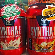 BSN Syntha-6 Ultra Premium Lean Muscle Protein  2.91 lbs LIMITED EDITIONS