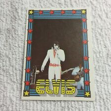 1978 Monty Gum - ELVIS PRESLEY - Club Card From Holland - (Blank Back) - Card 36