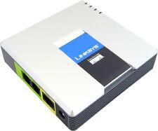 Linksys PAP2T VoIP Analog Adapter, SIP ATA *ref*, 2 Analog Phone Ports, UNLOCKED