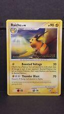 Pokemon Card STAFF Prerelease Raichu 27/99 - Arceus - VERY RARE Near Mint