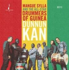 MANGUE SYLLA & THE ALL-STAR DRUMMERS OF GUINEA - DUNNUN KAN NEW CD