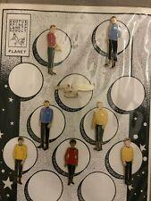 Star Trek Enamel Pins - 8 Pin Set - Rare
