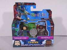 2017 MINIMATES MARVEL--SAKAAR LOKI & HEIMDALL FIGURES (NEW) TOYSRUS EXCLUSIVE