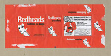 MATCHBOX WRAPPER FOR 12 BOXES - REDHEADS, AUSTRALIA, SPORTS TOP OFFER