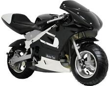 MOTOTEC GAS POCKET BIKE- DIRT BIKE - BLACK