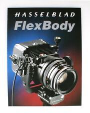 HASSELBLAD FLEX BODY BROCHURE