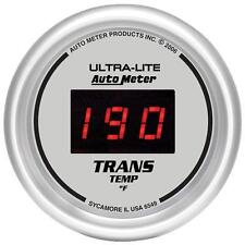 UNIVERSIAL DODGE FORD CHEVY AUTO METER ULTRA DIGITAL TRANSMISSION TEMP GAUGE.