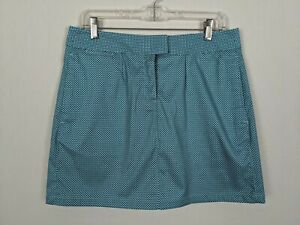 PUMA Turquoise (blue coral) diamond tech  golf skort sz 8