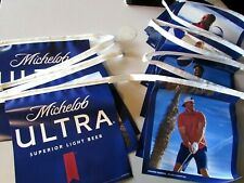 New Michelob Ultra Summer Vibes Beer String Banners Vinyl Man Cave Double Sided