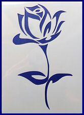 Flexible Stencil *ROSE* Flower Bloom Painting Embossing Card Making 10cm x 14cm