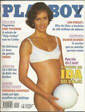 PLAYBOY MAGAZINE BRAZIL # 254 - IDA VOLLEY  -  SEP 1996 HOT!!