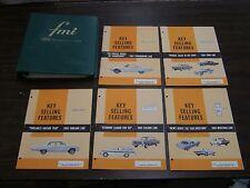Original 1965 Ford Dealer Facts Book Fairlane Galaxie Falcon Mustang T-Bird +++