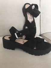 *BNWOT* George Ladies Black Sandals - Size 3