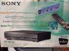 SONY WEB TV INT-W250 INTERNET TERMINAL