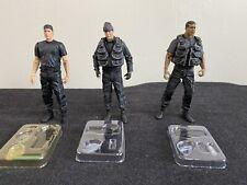 Stargate SG-1 Figure Lot - Black Ops - Jack O'Neill, Daniel Jackson, And Teal'c