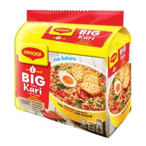 Maggi Big Curry Instant Noodles 1 pack (5 x 111g)