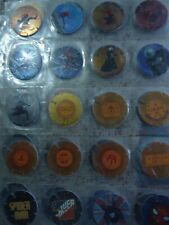 COMPLETE COLLECTION OF 50 TAZOS POGS SPIDERMAN