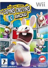 Rayman Prod' Présente : The Lapins Crétins Show sur Wii ou Wii U orig. VF comp.