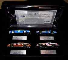 Dale Earnhardt Action 4 Car Set Milestones In Racing Chevy Monte Carlo Case 1:64