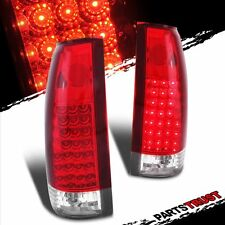 1988-1999 Chevy C/K GMC 1500 2500 3500 Cadillac Escalade Red LED tail lights