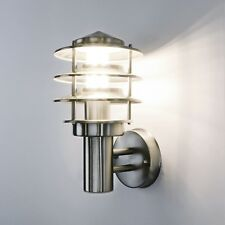 Außenleuchte Außenlampe Wandleuchte Edelstahl 249a Lampe leuchte