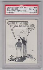 1965 GILLIGAN'S ISLAND CAN YOU SEE ANYTHING YEAH THE... CARD #38 PSA 6.5 EX-MT+