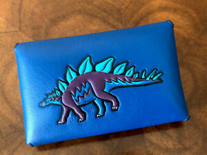 Original Packaging NWT Coach 1941 Beast Collection STEGGY Dino Small Card Wallet