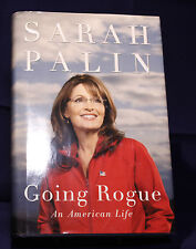 SARAH PALIN GOING ROGUE 1st Edition/2nd Printing Hard Cover