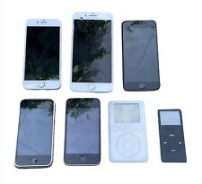 Lot of 5 Apple | iPhone 1st , 3Gs, 6, 7 Plus, iPod A1040 & iPod A1137 for Parts