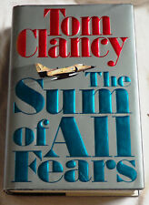 The Sum of All Fears by Tom Clancy Signed