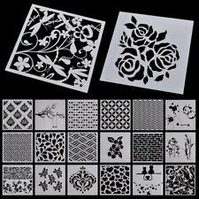Flower Layering Stencils Scrapbooking Album Decor Embossing Drawing Paper Craft