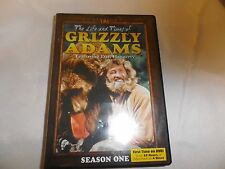 The Life and Times of Grizzly Adams: Season 1, 4-DVD'S SCRATCH FREE DISC