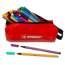 Stabilo Ultimate 46 Pen Coloring Set - Point 88 Fineliners & Point 68 Felt Tips