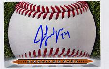 JACOB LINDGREN Signature Card AUTO signed 2014 Draft Yankees Jake