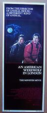 AN AMERICAN WEREWOLF IN LONDON (1981) ORIGINAL INSERT MOVIE POSTER - ROLLED MINT