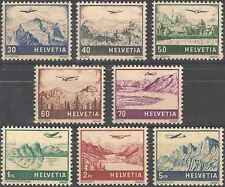 Timbres Avions Suisse PA27/34 ** lot 1894