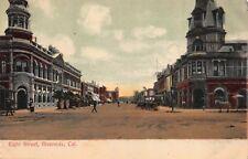 Postcard Eight Street in Riverside, California~118574