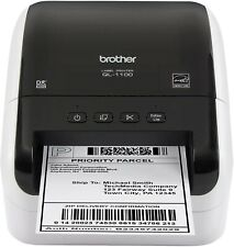 Brother QL-1100 Wide Format Postage Barcode Professional Thermal Label Printer