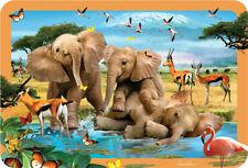 EuroGraphics Howard Robinson Elephants Selfie 3D Placemat