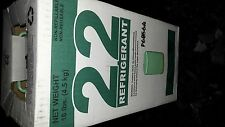 R 22 freon refrigerant 10lbs NEW SEALED FULL. NIB