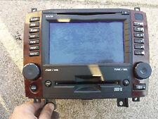 2006 2007 Cadillac CTS GPS Navi Navigation RADIO Screen CD PLAYER 10373846 UAV